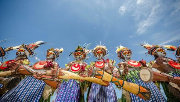 Goroka Show PNG Mt Hagen Tribe