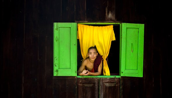 Myanmar Portrait in Hsipaw