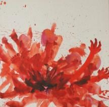 Une charmeuse - www.fabiennecolin.com Acrylique sur toile 100X100