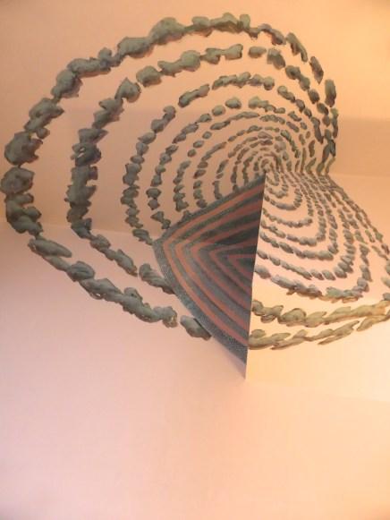 Anamorphose pour le plafond d' une chambre.