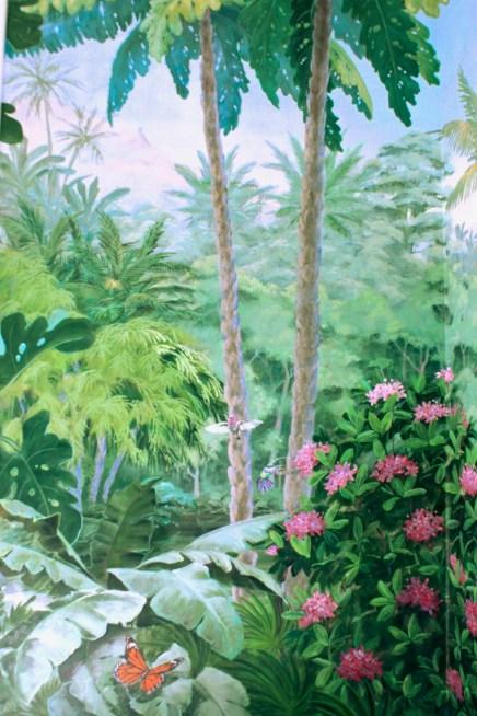 Détail de l'angle nord ouest aux colibris. fabiennecolin.com