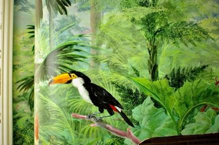 Détail du toucan de cheminée. fabiennecolin.com