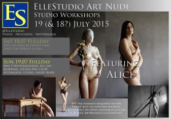Stage de photographie de nu artistique à Neuchâtel, avec Alice, par Fabien Queloz Elle Studio