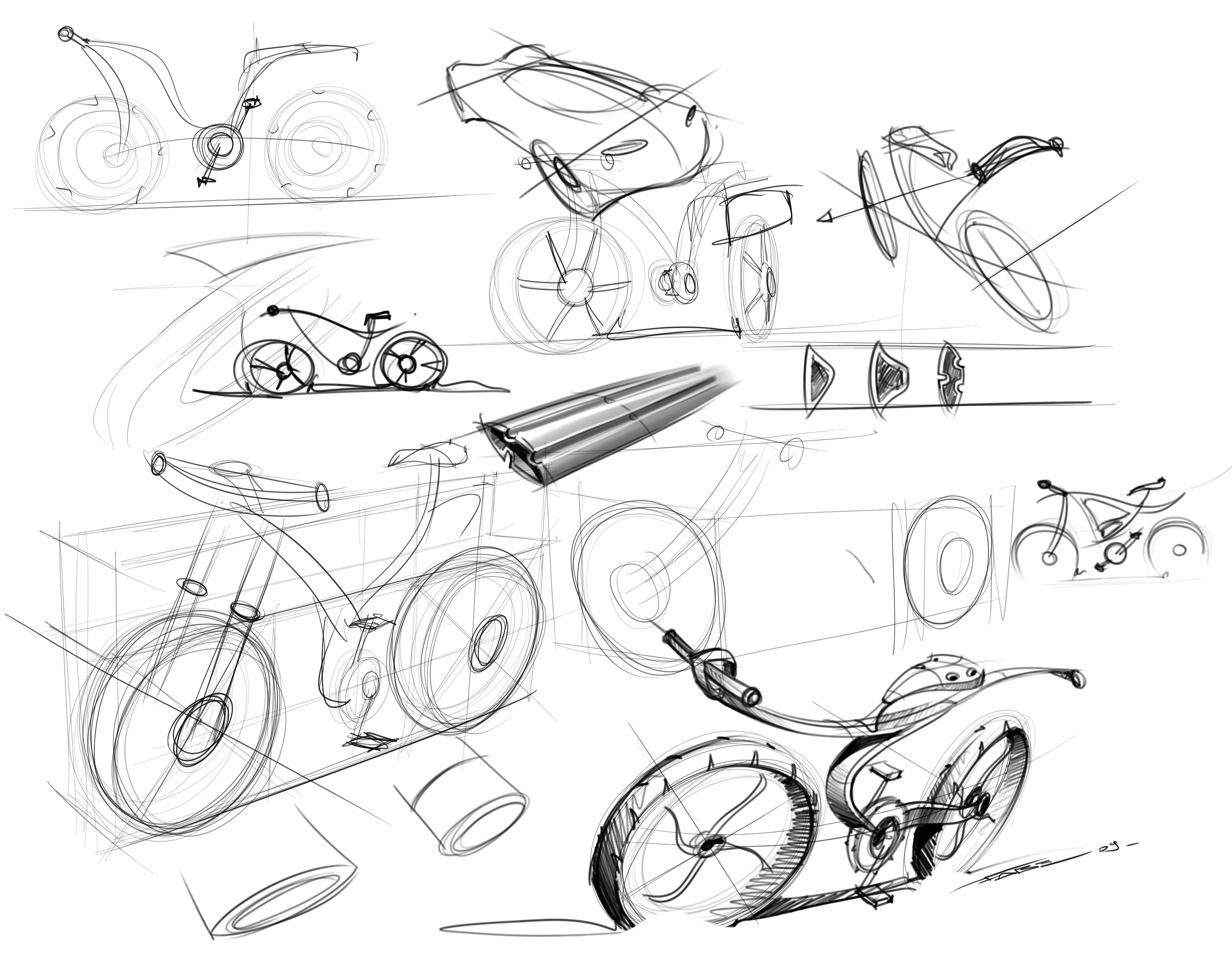 Sketches From Pune India