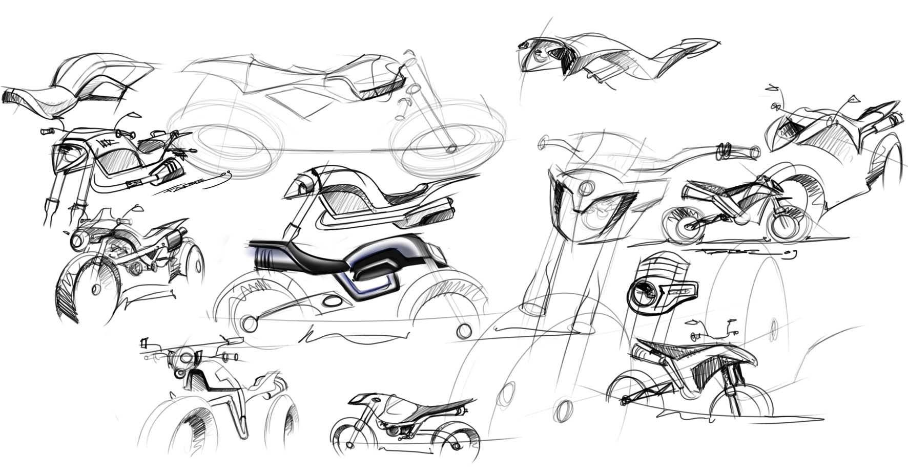10 09 S U M Concept Sport Utility Motorcycle