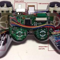 Ps2 Controller To Usb Wiring Diagram 2005 Chevy Silverado 2500hd Radio Ps3 Board Serial Number