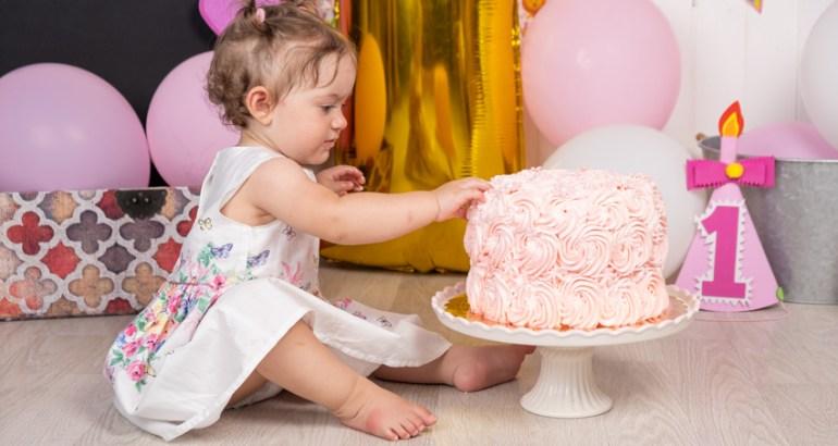Servizio fotografico Smash Cake a Novara