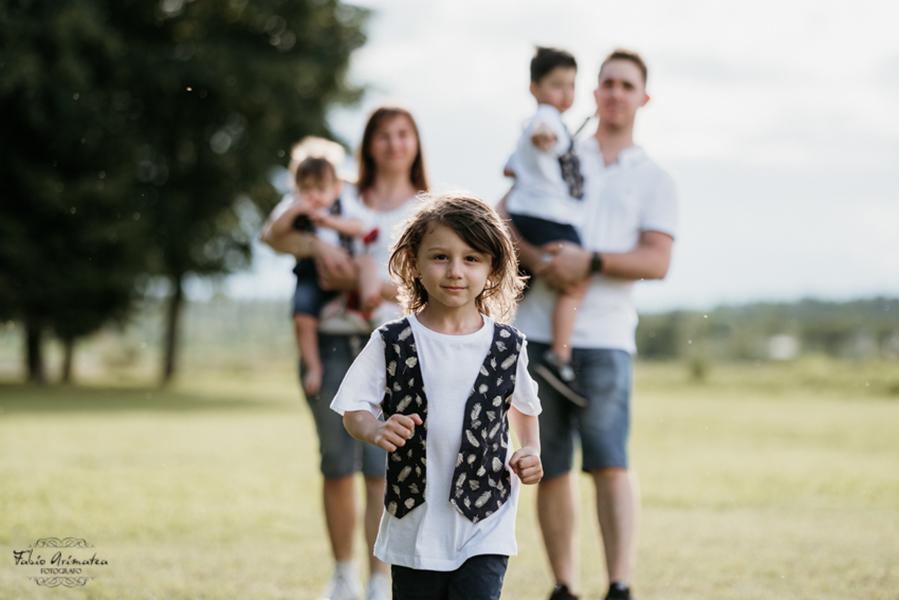 servizio fotografico Family
