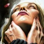 'Desolata notte'  Oil on canvas  cm.100x88