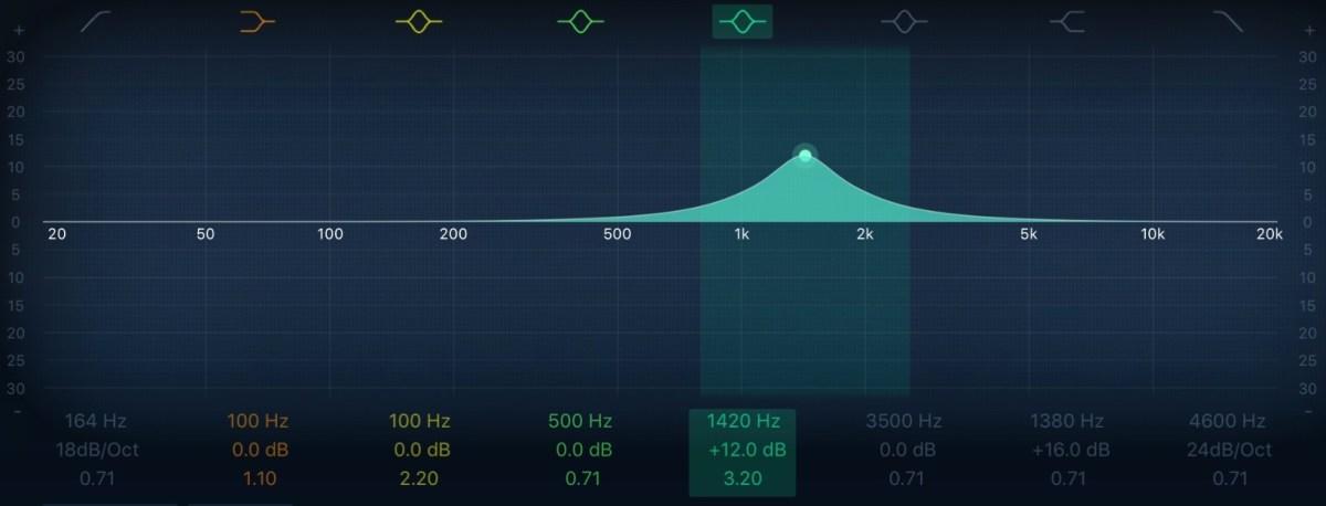 equalizzatore audio