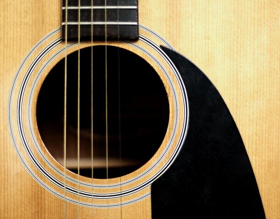 mixare chitarra acustica