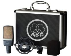 AKG C214 - microfono a condensatore vintage style