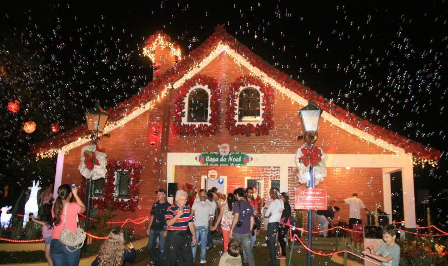 Luzes de Natal em Socorro