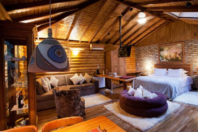 Cabana Pousada do Engenho - Ambiente romântico e acolhedor