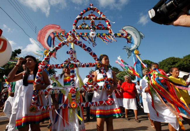 Procissão religiosa do Çairé Foto Rodolfo Oliveira Agência Pará