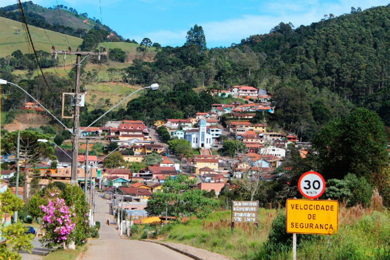 Centro de Gonçalves - MG- Foto Turismo em Gonçalvas