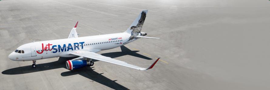 JetSMART reduz número de voos