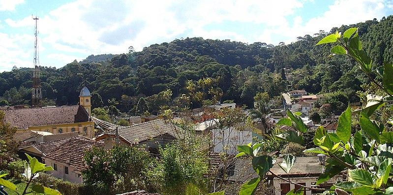 Vista de Santo Antônio do Pinhal Foto Ismael Silva Wikipedia
