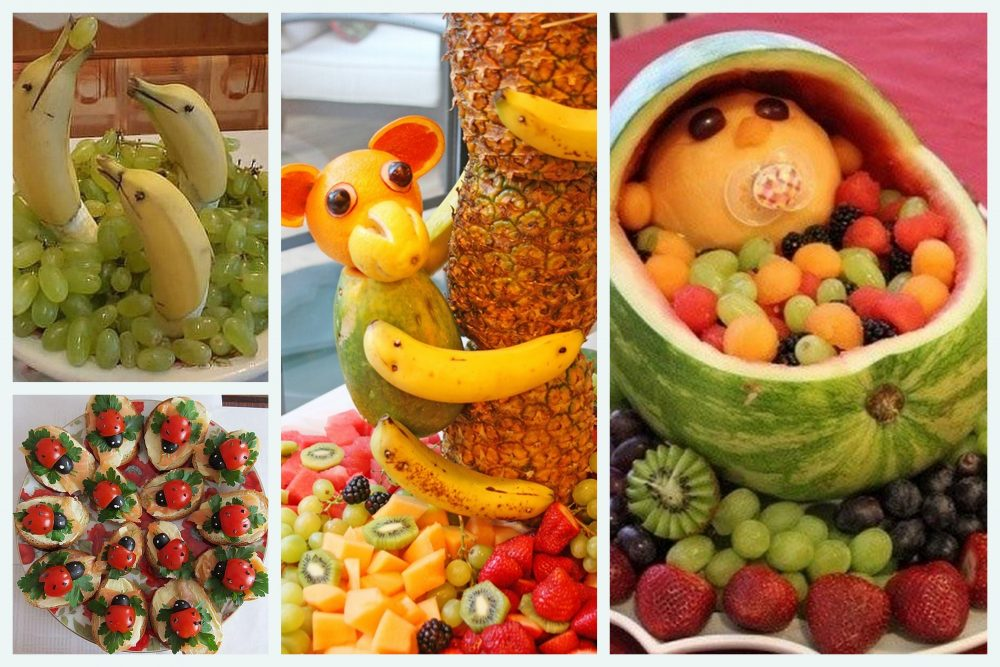 Extremamente Decoração com frutas: Quanto mais simples, mais bonita » FQ61