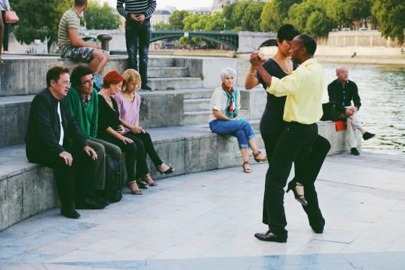Tango às margens do Sena
