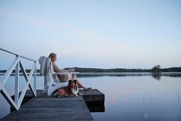 Refúgio de férias na Finlandia