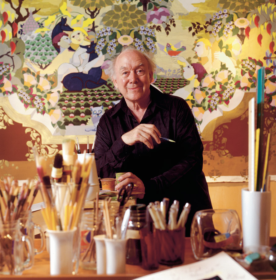 Bjørn Wiinblad criou com suas peças um universo mágico e lúdico com a intenção de encantar.