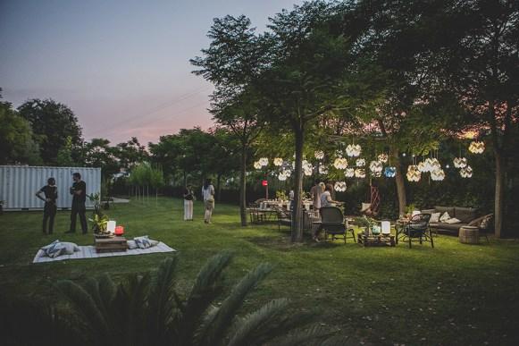 Festa no jardim da LZF Lamps
