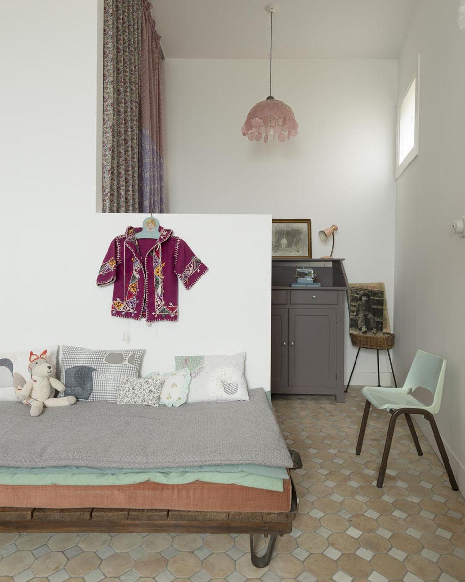 Uma casa boho chic no sul da França