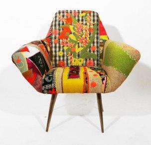 Boêmio, colorido, vintage, design, libanês