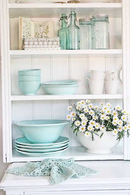 cozinhas, azul ceu, serenity