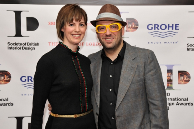 Os donos da casa: Susie e Evros Agathou
