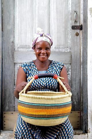 Baba Tree Baskets, Gana, Cestos Africanos