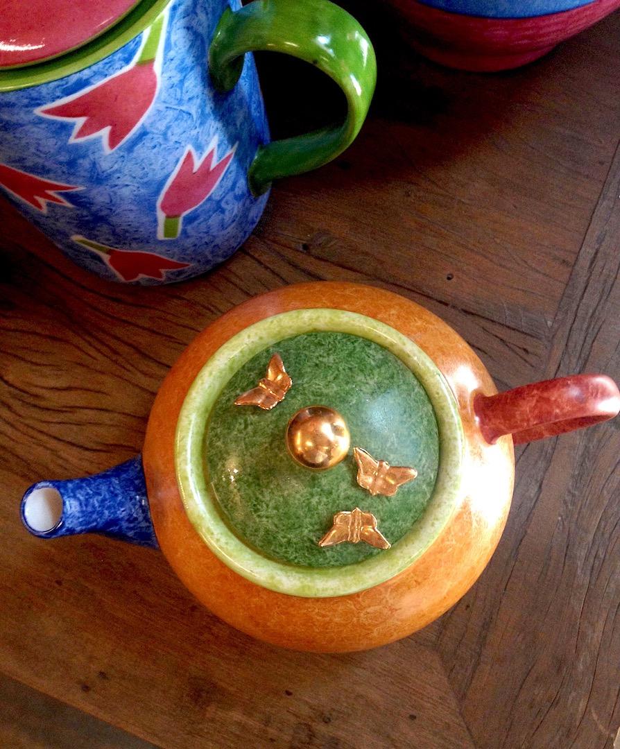 Cerâmica pintada à mão por Juza Graça