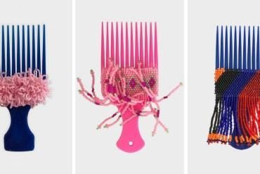 Designer cria projeto que transforma pentes de plástico em OBJETOS DE DESIGN