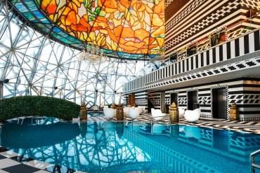 Mondrian Doha: A exuberante estética árabe de um HOTEL NO QATAR