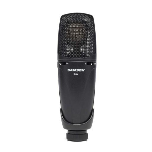 tipos de microfone microfone condensdor samson cl7a