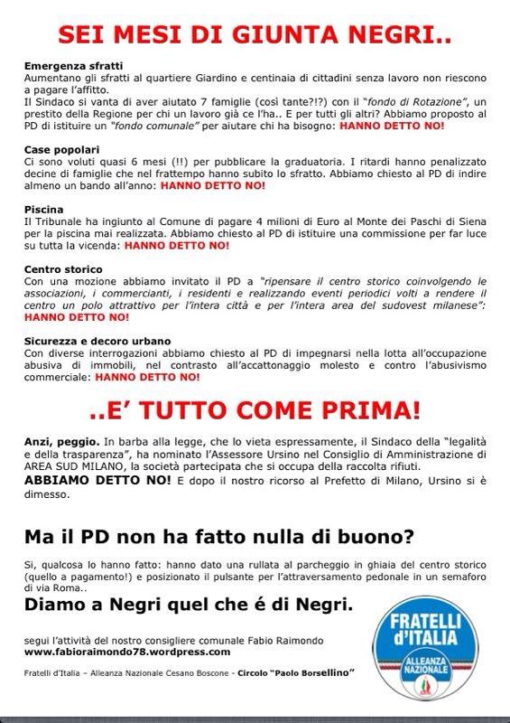 Cesano Boscone  Il blog di Fabio Raimondo  Pagina 4