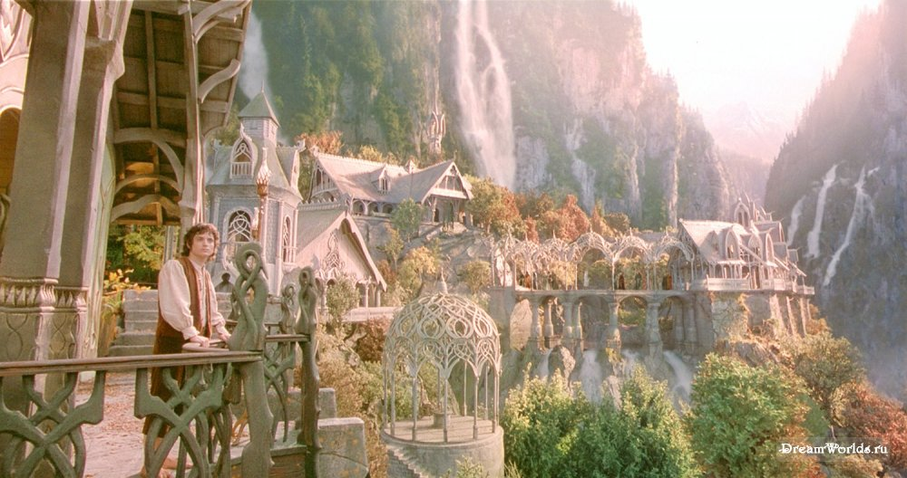 "Rivendell in ""Lord of the Rings."""
