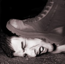 Boot on Face