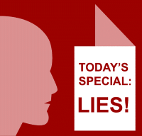 Today' s special: lies
