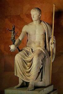 Emperor Octavian.