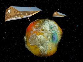 GRACE satellites at work