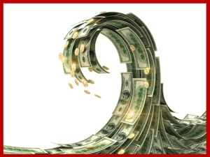 A wave of money reshaping America.