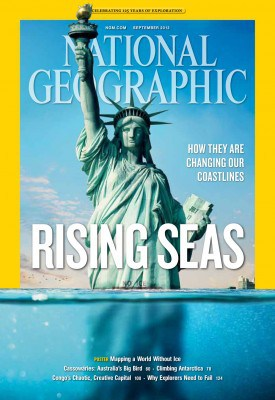 Statue of Liberty, National Geographic, September 2013