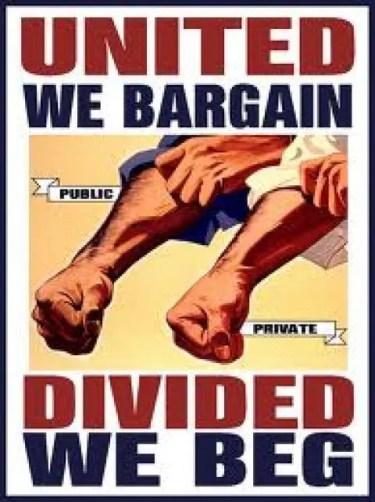 Union: bargain or beg