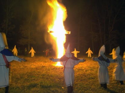 KKIK cross burning