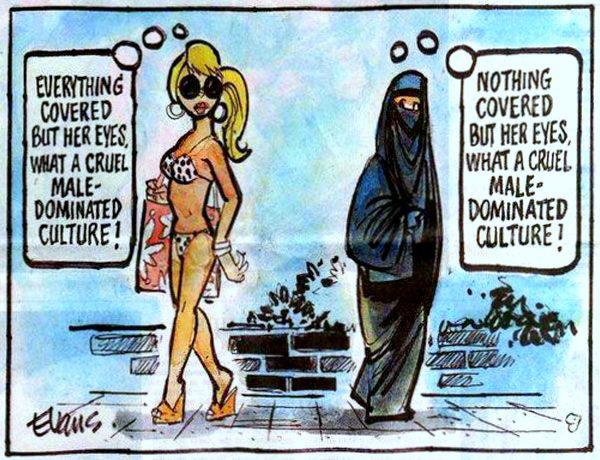 Women in Islam and the West
