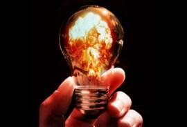 Fire in a bulb