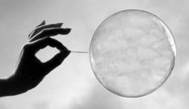 Mr. Bubble, meet Mr. Needle