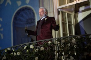 Catching Fire: Donald Sutherland
